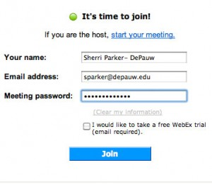 WebEx Join Meeting Image